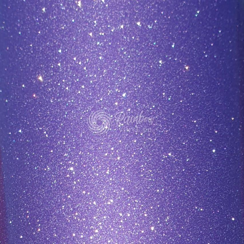 Styletech Ultra Metallic Glitter Purple Rainbow Vinyl Co