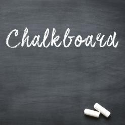 Chalkboard / Blackboard Vinyl